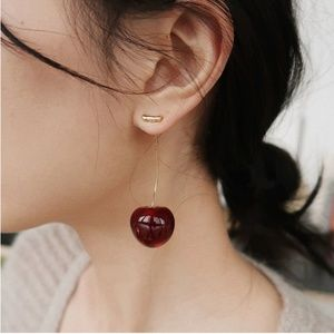 Urban Outfitters Cherry Season Dangle Earrings